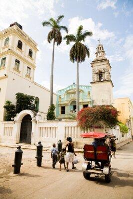 Quadro Belen Convento, Havana