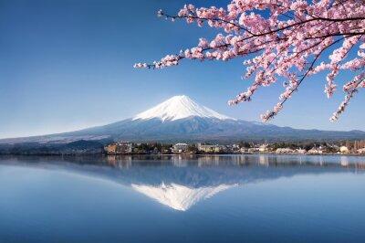 Quadro Berg Fuji no Japão Kawaguchiko