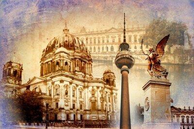 Quadro Berlim arte projeto ilustração