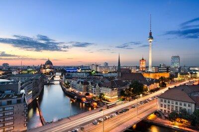 Quadro Berlim Skyline Panorama