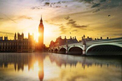 Quadro Big Ben and House of Parliament