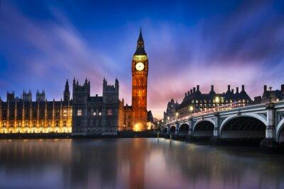 Quadro Big Ben e Câmara do Parlamento