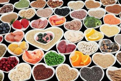 Quadro Body Building Saúde Alimentos