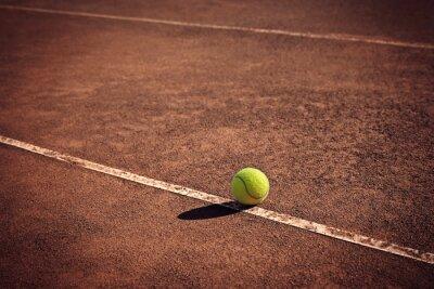 Quadro Bola de tênis na linha