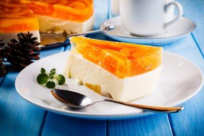 Quadro Bolo de queijo de frutas