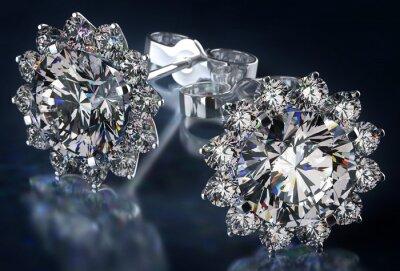 Quadro Brincos de diamante
