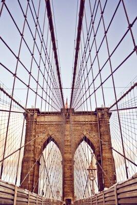 Quadro Brooklyn Bridge, em Nova York