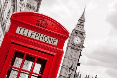 Quadro Cabine de telefone. Londres, Reino Unido