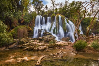 Quadro Cachoeira Kravice na Bósnia e Herzegovina