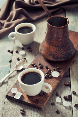 Quadro Café em copos