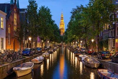 Quadro Canais de Amesterdão