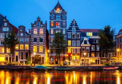Quadro Canais de Amesterdão.