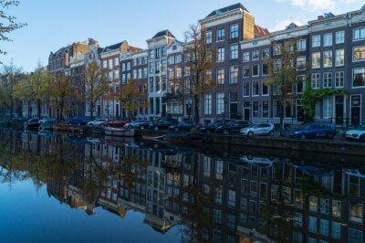 Quadro canal de Amsterdão