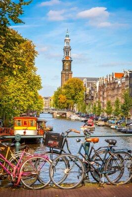 Quadro Canal Prinsengracht, em Amesterdão
