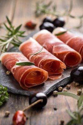 Quadro Carne de porco colar presunto
