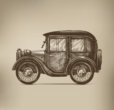 Quadro Carro Antigo