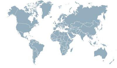 Quadro carte du monde 24072015