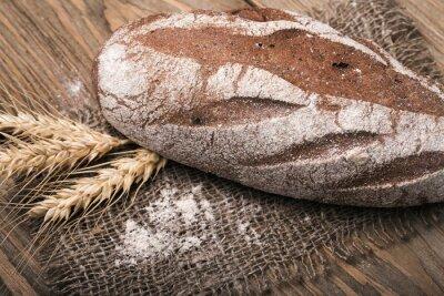 Quadro Caseiro, pão, close-up