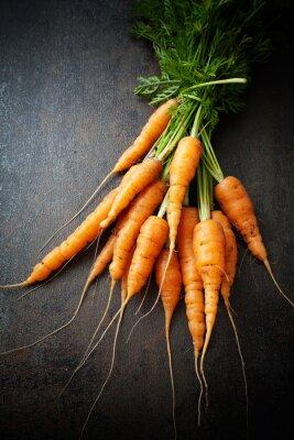 Quadro Cenouras frescas