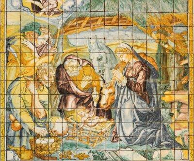 Quadro Cerâmica religiosa, Natividade, Lisboa, Portugal