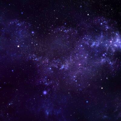 Quadro céu estrelado