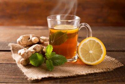 Quadro chá de gengibre
