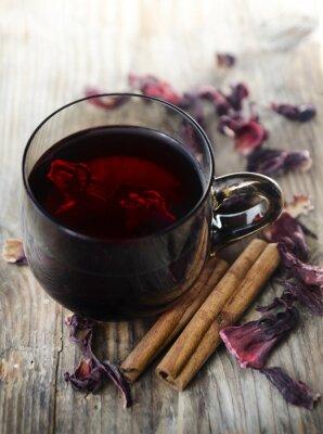 Quadro Chá de hibisco