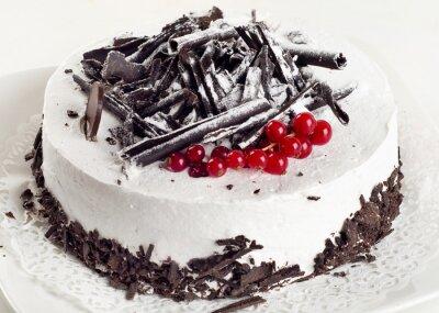Quadro Cheesecake com groselha