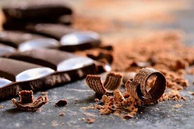 Quadro Chocolate escuro