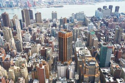 Quadro Cityscape, vista, Manhattan