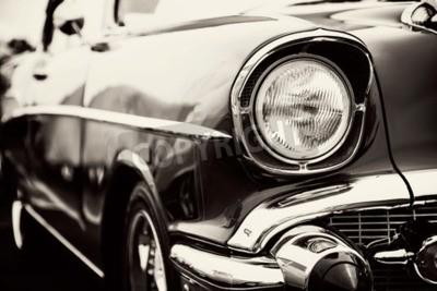 Quadro Clássico, car, close-up, faróis