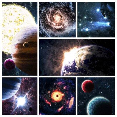 Quadro Colagem Espaço