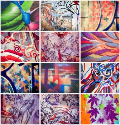 Quadro Colores Graffitis