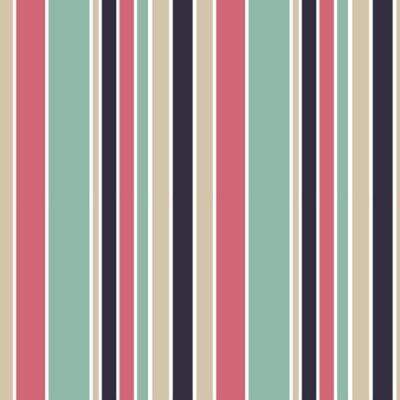 Quadro Coloridos, vertical, listras, seamless, vetorial, Padrão, fundo, Ilustração