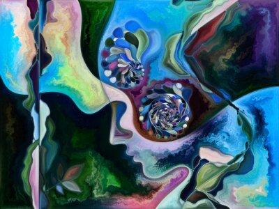 Quadro Conceptual Living Canvas
