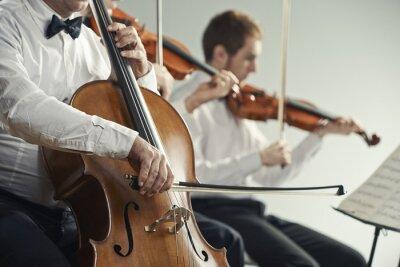 Quadro Concerto de música clássica