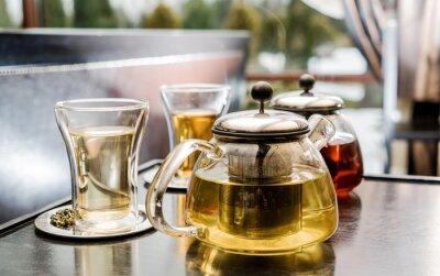 Quadro Conjunto de chá