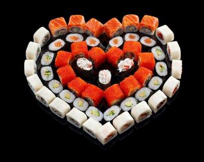 Quadro Conjunto de sushi