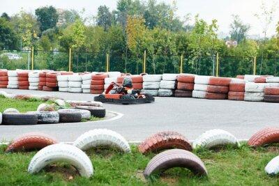 Quadro Crianças karting