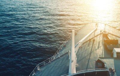 Quadro Cruzeiro, navio, arco