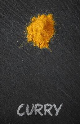 Quadro Curry, pretas, ardósia, tabela