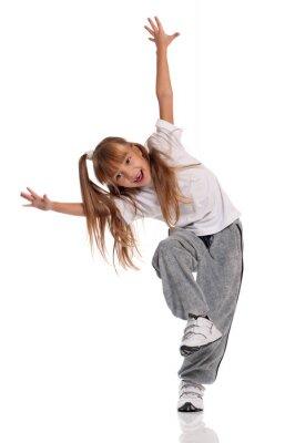 Quadro Dança da menina