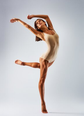 Quadro dançarino da bailarina