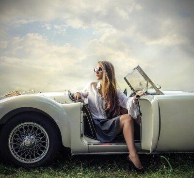Quadro de carros antigos
