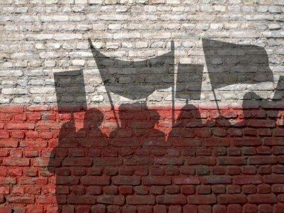 Quadro Demonstração na Polónia