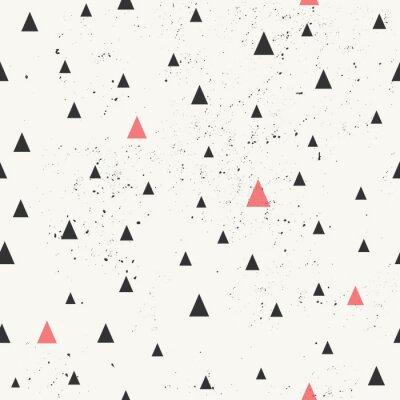 Quadro Desenhado mão Abstract Seamless Pattern
