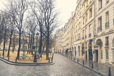 Quadro Dia sombrio em Paris