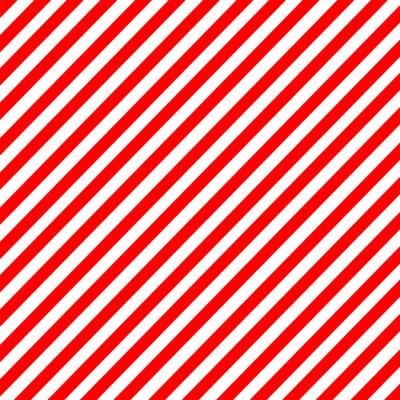 Quadro Diagonal, listra, vermelho-branco, Padrão, vetorial