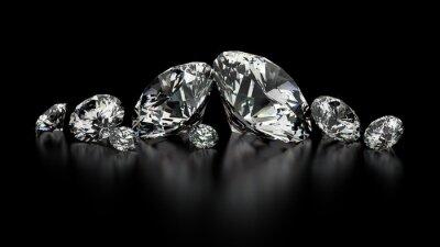 Quadro diamantes