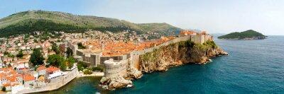 Quadro Dubrovnik panorama paredes